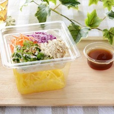 胡麻マヨ蒸し鶏のこんにゃく麺サラダ 330円