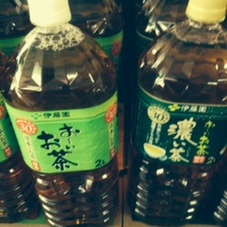 お~いお茶緑茶・濃い味 118円(税抜)