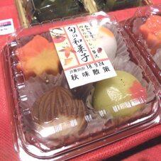 旬の和菓子 秋味散策 298円(税抜)
