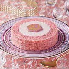 ルビーチョコレートのロールケーキ 350円