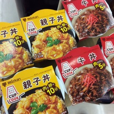 CUP COOK(牛丼 親子丼) 248円(税抜)