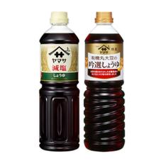 有機丸大豆の吟選しょうゆ・減塩 267円(税抜)