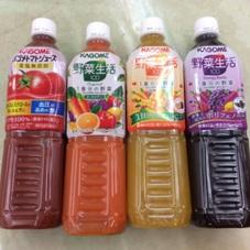 野菜生活100〈各種〉・トマトジュース 158円(税抜)