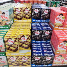 ビスコ各種 78円(税抜)