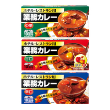 業務カレー 甘口・中辛・辛口 99円(税抜)