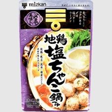 〆まで美味しい地鶏塩ちゃんこ鍋つゆストレート 278円(税抜)