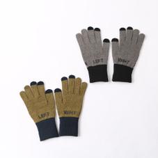 ロゴスマホ対応手袋L 300円(税抜)