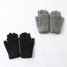 スマホ対応2WAY手袋 300円(税抜)