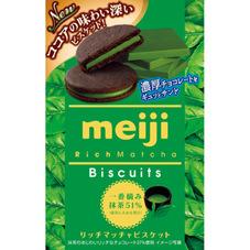 明治 リッチ抹茶ビスケット 100円(税抜)