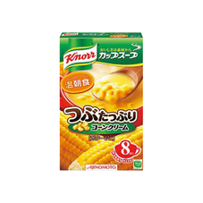 クノールカップスープ つぶたっぷりコーンクリーム 258円(税抜)