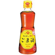 金印純正ごま油PET 458円(税抜)