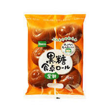 黒糖食卓ロール黒酢入 100円(税抜)