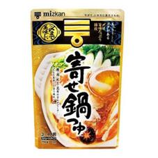 〆までおいしい鍋つゆ各種 198円(税抜)