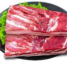 豚肉バラブロック 128円(税抜)