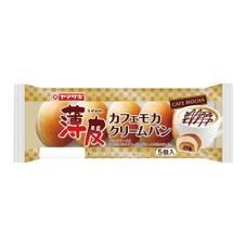 薄皮 カフェモカクリームパン 108円