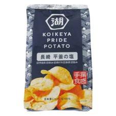 PRIDE POTATO 手揚食感 長崎平釜の塩 108円