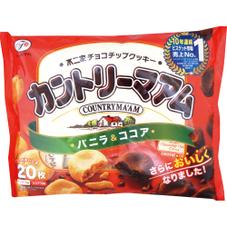 カントリーマアム  バニラ&ココア 198円(税抜)