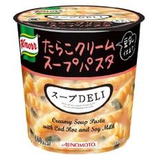クノール スープDELI たらこクリームスープパスタ(豆乳仕立て)(容器) 108円(税抜)