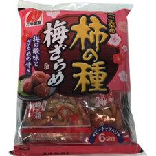 三幸の柿の種 梅ざらめ 108円
