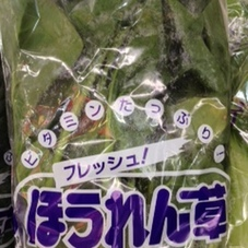 ほうれん草 99円(税抜)