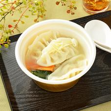 鶏だしと生姜の餃子スープ 399円