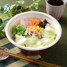 1/2日分の野菜が摂れるちゃんぽん 480円