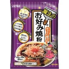 魔法のお好み焼粉400g 158円(税抜)