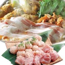 国産鶏肉と生つみれの鍋セット 480円(税抜)