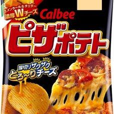 ピザポテト 堅あげポテト(うすしお) 79円