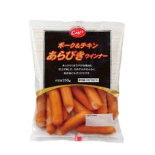 コープス ポーク&チキンあらびきウインナー 258円(税抜)