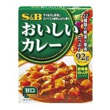 SB おいしいカレー 甘口 5ポイントプレゼント