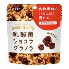 乳酸菌ショコラ グラノラ モバイルパウチ 10ポイントプレゼント