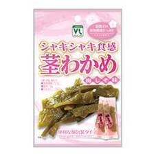 シャキシャキ食感茎わかめ梅しそ味 108円