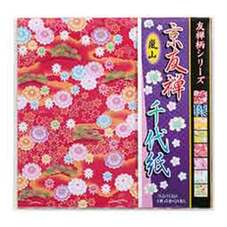京友禅 千代紙 108円