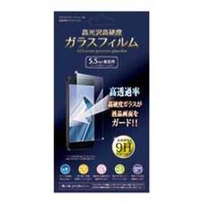 ガラスフイルム 5.5inch画面用 108円