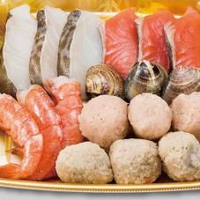 海鮮鍋具材セット(中) 780円(税抜)