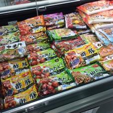 中華名菜(酢豚.八宝菜.甘酢肉だんご.かに玉.エビチリソース) 199円(税抜)