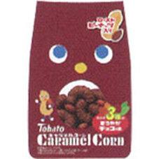 キャラメルコーン カカオ3種のまろやかチョコ味 58円