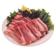 豚バラ焼肉タレ付 128円(税抜)