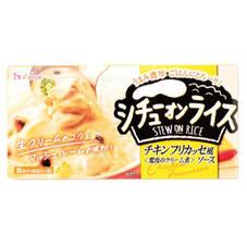 シチューオンライス チキンフリカッセ風ソース 198円(税抜)