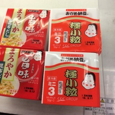 極小粒ミニ納豆 まろやか旨味 68円(税抜)