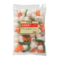和風野菜ミックス 178円(税抜)