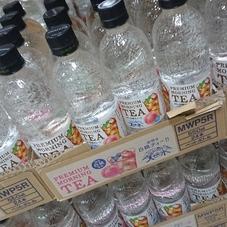 天然水プレミアムモーニングティー白桃 59円(税抜)