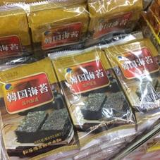 韓国在来味付け海苔 100円(税抜)