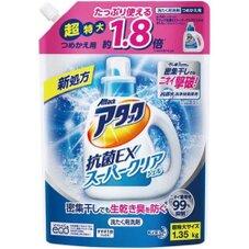アタック抗菌EXスーパークリアジェル詰替用(1350g) 358円(税抜)