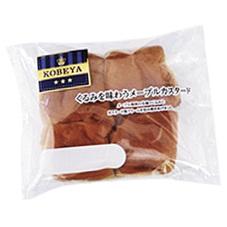 くるみを味わうメープルカスタード 98円(税抜)