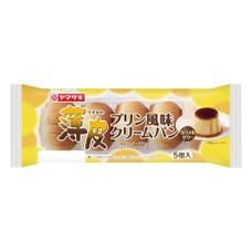 薄皮 プリン風味クリームパン 108円
