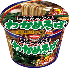 日清デカうま わかめそば 95円(税抜)