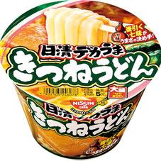 日清デカうま きつねうどん 95円(税抜)