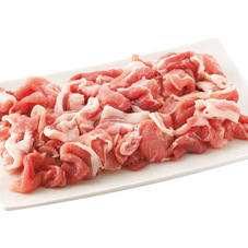 国産豚肉こまぎれ 107円(税抜)